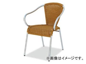 テラモト/TERAMOTO グラシアアームチェア 8.ベージュ MZ-598-100