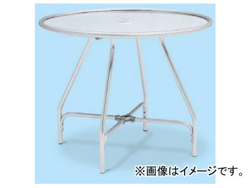 テラモト/TERAMOTO ガーデンアルミテーブル(組立式) MZ-610-010-0 JAN:4904771237701