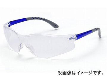 理研オプテック/RIKEN 保護めがね スタンダード 一眼式 ブルー FQO-928C BF 入数:1箱(10個入)