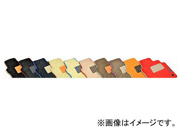 ELDINE カスタムフロアマット ラゲッジマット別売1台分セット 品番:8623X901 ヒールパットカラー:ホワイト他 BMW 3シリーズ(F31) ツーリング 2012年09月~