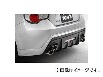 トムス リヤアンダースポイラー 素地 52159-TZN60-Z トヨタ 86 ZN6 2012年02月~