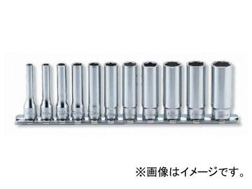 """コーケン/Koken 1/4""""(6.35mm) 12角ディープソケット レールセット 11ヶ組 RS2305M/11"""