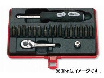 """コーケン/Koken 1/4""""(6.35mm) ソケットセット 19ヶ組 2276"""