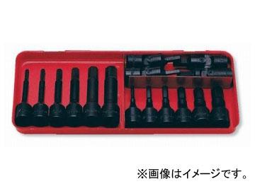 """コーケン/Koken 3/8""""(9.5mm) ソケットセット 16ヶ組 3219M"""