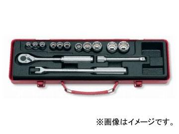 """コーケン/Koken 3/8""""(9.5mm) ソケットセット 14ヶ組 3220M"""