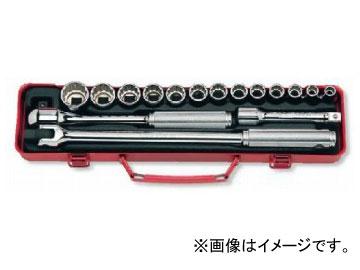 """コーケン/Koken 1/2""""(12.7mm) ソケットセット 17ヶ組 4230A"""
