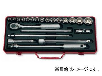 """卸し売り購入 ソケットセット 1/2""""(12.7mm) 22ヶ組 コーケン/Koken 4244A:オートパーツエージェンシー-DIY・工具"""