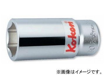 """コーケン/Koken 3/4""""(19mm) 6角ディープソケット 6300A-2. 1/16"""