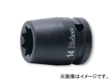 """コーケン Koken 美品 1 2"""" 12.7mm 新作多数 2重4角ソケット 14415M-27"""