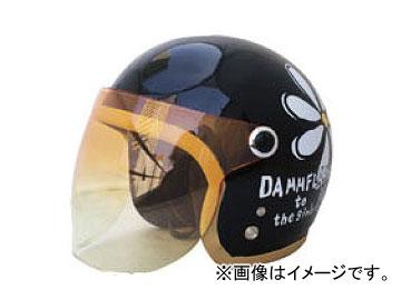 2輪 ダムトラックス/DAMMTRAX フラワージェット パールブラック レディースフリー(57cm~58cm) JAN:4580184031091