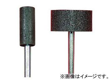 柳瀬/YANASE レジノイド軸付砥石 A(黒) 円筒タイプ BA1325-A 入数:50本