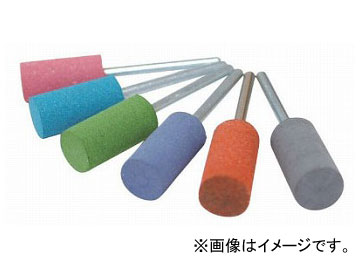 柳瀬/YANASE 精密セラミックポイント 円筒タイプ 20×25 粒度:#500,#1000 入数:10本