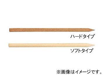 柳瀬/YANASE ウッドスティック 丸棒 ハード 6.5×150 SM-65H 入数:5本