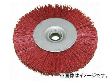 柳瀬/YANASE ホイールブラシ・ユニロングリット 250×19.05×25×125 #60 YB4114