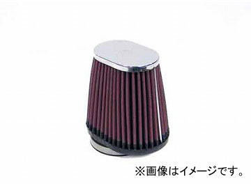 2輪 K&N オーバルテーパー/クローム 品番:RC-2900 JAN:4520616221812
