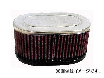 2輪 K&N デュアルフランジオーバル/クローム 品番:RC-3510 JAN:4520616474904