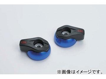 2輪 LSL Newクラッシュパッド 品番:550-002BL ブルー(アルマイト) JAN:4547567770664