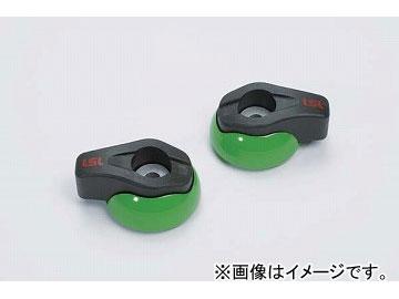 2輪 LSL Newクラッシュパッド 品番:550-002GR グリーン(ペイント) JAN:4547567770718