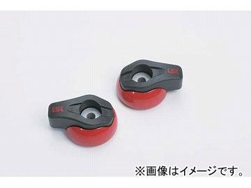 2輪 LSL Newクラッシュパッド 品番:550-002SR ソリッドレッド(ペイント) JAN:4547567770756
