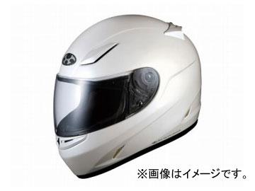 2輪 オージーケーカブト ヘルメット FF-R3 パールホワイト