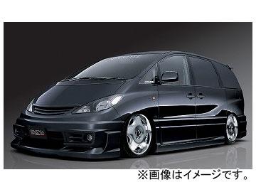 ケンスタイル ISM BLACK BIRD II フロントバンパースポイラー トヨタ エスティマ MCR30W/MCR40W/ACR30W/ACR40W 前期 2000年01月~2003年04月
