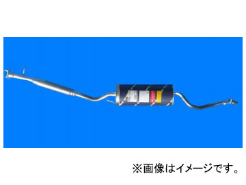 HST/辻鐵工所 マフラー 品番:055-121 ダイハツ オプティ L310S(4WD) 1995年10月~1998年08月 JAN:4527711551042