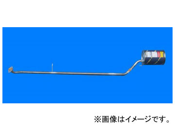 HST/辻鐵工所 マフラー 品番:055-150 ダイハツ ミラ L700S(2WD)/L700V(2WD) 1998年10月~2000年09月 JAN:4527711551110