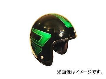 2輪 72JAM JET HELMET ジェットヘルメット JAM CUSTOM PAINTING JCP SCALLOP GR JCP-31 JAN:4562286790458