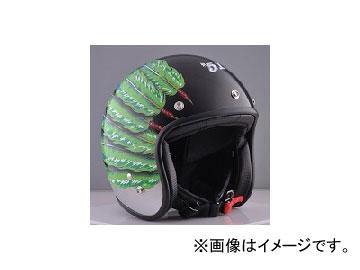 2輪 72JAM JET HELMET ジェットヘルメット JAM CUSTOM PAINTING Mens Feather JET LIME GREEN IW-03 JAN:4562286791028