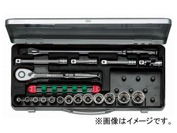 多様な KTC TB413:オートパーツエージェンシー 12.7sq.ソケットレンチセット[19点]-DIY・工具