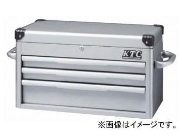 KTC トップチェスト(3段3引出し) シルバー EKR-1003