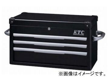 KTC トップチェスト(3段3引出し) ブラック EKR-1003BK