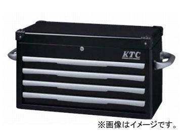 KTC トップチェスト(4段4引出し) ブラック EKR-1004BK