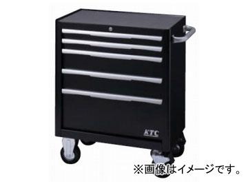 KTC ローラーキャビネット(5段5引出し) ブラック EKW-1005BK