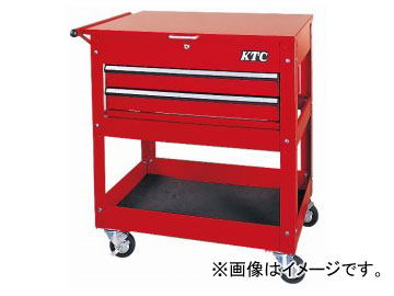 KTC ワゴン(1段2引出し) SKX2614