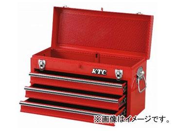 KTC チェスト(3段3引出し) ソリッドレッド SKX0213