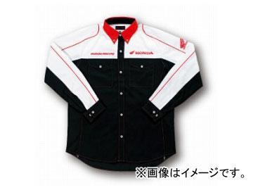 2輪 ホンダライディングギア ピットシャツLS ブラック 4L 0SYTN-K51-K4L