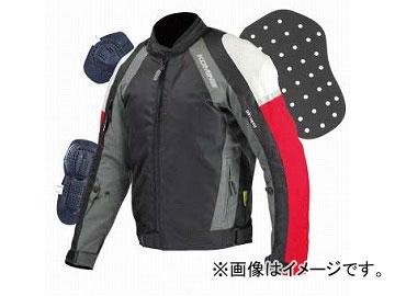 2輪 コミネ/KOMINE JK-575 ウインタージャケット フォルザックスII 07-575 ブラック/レッド サイズ:XS,S,M,L,XL他