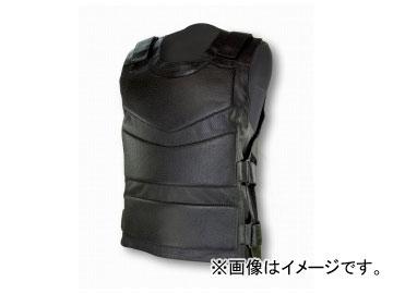 2輪 ライズ/RIDEZ ARMED LEATHER VEST(アームドレザーベスト) カラー:BLACK