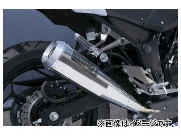 2輪 ヤマモトレーシング spec-A マフラー SUS SLIP-ON メガホン 品番:40253-01NMN カワサキ Z250 2013年~