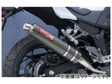 2輪 ヤマモトレーシング spec-A マフラー SUS SLIP-ON ケブラー 品番:40253-01NKB カワサキ Z250 2013年~