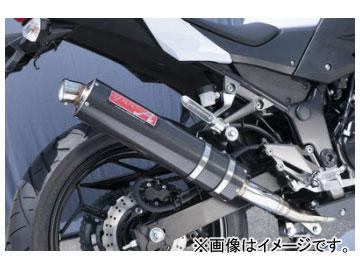 2輪 ヤマモトレーシング spec-A マフラー SUS SLIP-ON カーボン 品番:40253-01NCB カワサキ Z250 2013年~