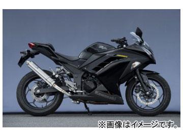 2輪 ヤマモトレーシング spec-A マフラー SUS SLIP-ON チタン 品番:40252-01NTB カワサキ ニンジャ250 2013年~