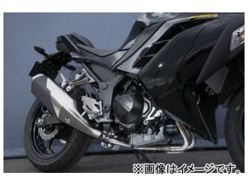 2輪 ヤマモトレーシング spec-A マフラー SUS2-1 EX ASSY 品番:40252-00001 カワサキ ニンジャ250 2013年~