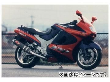 2輪 ヤマモトレーシング spec-A マフラー SUS4-2-1 カーボン 品番:41100-21SCB カワサキ ZZR1100