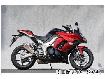2輪 ヤマモトレーシング spec-A マフラー SUS SLIP-ON TWIN TYPE-S 品番:41001-02NSN カワサキ ニンジャ1000 2011年~
