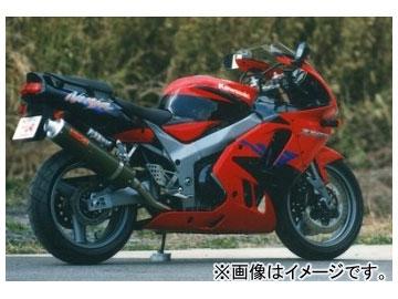 2輪 ヤマモトレーシング spec-A マフラー SUS SLIP-ON カーボン 品番:40901-01NCB カワサキ ZX-9R ~1997年
