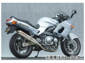 2輪 ヤマモトレーシング spec-A マフラー SUS4-2-1 チタン 品番:40405-21STB カワサキ ZZR400