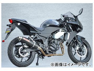 2輪 ヤマモトレーシング spec-A マフラー SUS2-1 カーボン 品番:40251-61SCC カワサキ ニンジャ250R 2008年~2009年