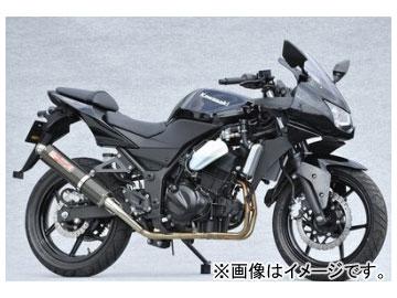2輪 ヤマモトレーシング spec-A マフラー SUS2-1 UP-TYPE カーボン 品番:40251-61SCR カワサキ ニンジャ250R 2008年~2009年